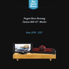 Peugeot Boxer 2014-2018 Reversing Brake Camera, Night Vision & 4.3'' Monitor