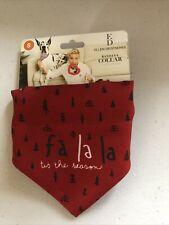 New listing Nwt Christmas Tree Holiday Small Dog Red Bandana Collar