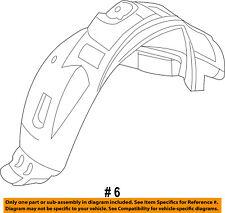 FORD OEM-Front Fender Liner Splash Shield Left CT4Z16103B