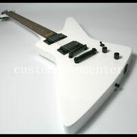 Custom Shop Electric Guitar MX250 EX Style White Color EMG Pickups