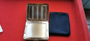 Powder Compact Ancient IN Metal Lacquer L' State With Mirror Cover REF55034