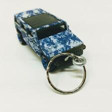 Matchbox Blue Digital Camo DigiCam Hummer H2 Concept 1:64 Diecast Keychain Gift