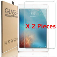 2Pcs Tempered Glass Screen Protector for Apple iPad Air Mini Pro 9.7 10.5 12.9