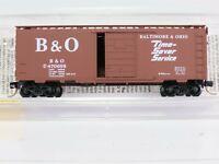 N Scale MTL Micro Trains 20346/1 B&O Baltimore Ohio 40' Standard Box Car #470699