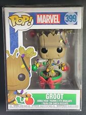 Funko Pop! Marvel Holiday Christmas #399 Groot (W/Soft Protector)