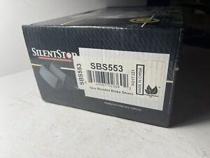 Drum Brake Shoe-Newtek Rear Federated SBS553. Silent stop