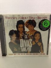 VH1 Divas Live 1999 Tina Turner Cher Elton John Brandy CD 1999 Arista Records