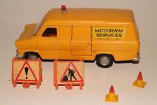 Dinky Toys #417 Ford Transit Van, Motorway Services, Original