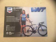 Anna Badegruber WNT-ROTOR Pro Cycling Women's Rider Card