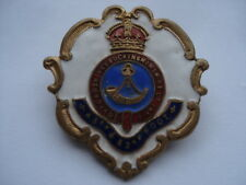 CWW1 OXFORDSHIRE&BUCKINGHAMSHIRE Lt INFANTRY 43RD & 2nd FOOT SWEETHEARTS BADGE