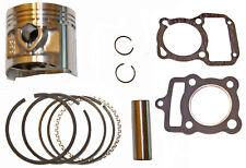 Kit de Pistón HONDA CG125 y Brasil Talla Estándar & Juntas (1977-1997) piezas como se muestra