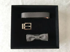 100% Authentic Dolce & Gabbana DG Limited Edition Belt 95 and Bowtie SET