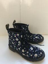 Dr. Martens Delaney Boot Kids Size US4 UK3 Daisy Print