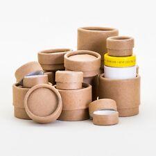Eco Friendly Biodegradable Kraft Lip Balm Jars  - 4 SIZES / 48 Total Pieces