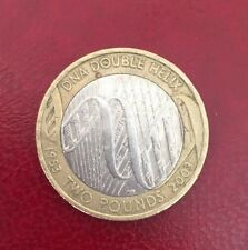 2 two pounds commemorative coin £2 DNA Double Helix rare 2003