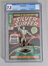 Silver Surfer #1 CGC 7.5 1968 Marvel Silver Age Grail!!