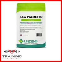 Lindens Saw Palmetto 500mg 100 Tablets, Fatty Acids & Sterols
