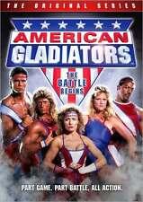 AMERICAN GLADIATORS ORIGINAL SERIES: BATTLE BEGINS - DVD - Region 1 Sealed