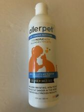 New listing Allerpet Cat Dander Remover 12 oz For People With Cat Allergies Exp-1/2021
