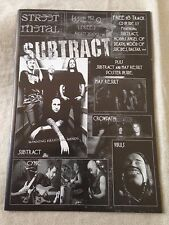 STREET METAL Issue #9 + bonus 15 track CD - Australian Heavy Metal Fanzine 2009