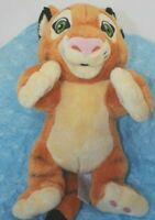 "Disney Parks Aladdin Baby Rajah Tiger Plush Stuffed Animal 12"" RARE"