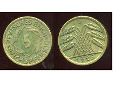 ALLEMAGNE 5  reichspfennig   1924 G