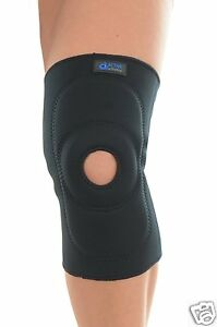 Pull on  neoprene knee support brace all sizes all sizes TEMP REDUCED