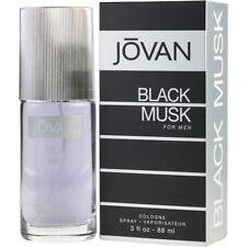 Jovan Black Musk for Men Cologne Spray Perfume 88ml