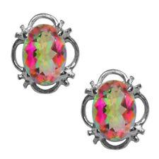 Pendientes de joyería multicolores topacio topacio