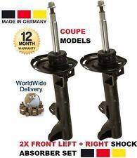 pour Mercedes Classe C C204 Coupé 2007- > 2 x AVANT GAUCHE + DROIT Amortisseur