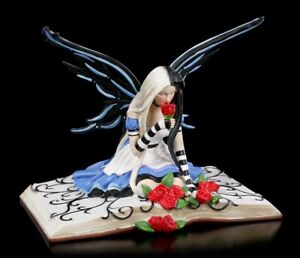 Elfen Figur - Wonderland Fairy Alice - Nemesis Now Fee Buchelfe Dekostatue