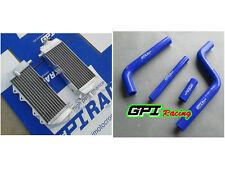 aluminum RADIATOR + hose for Yamaha YZ125 YZ 125 02-04 03 2002 2003 2004