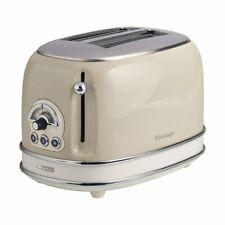 Ariete 2 Slice Vintage Toaster In Cream