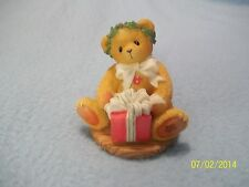 """Cherished Teddies MARGY """"I'm Wrapping Up A Little Holiday Joy To Send Your Way"""""""