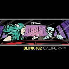 BLINK 182 CALIFORNIA DELUXE 2 CD ALBUM (New Release May 19th 2017)