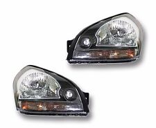 Fits 05-08 Hyundai Tucson Driver + Passenger Side Headlight Lamp Assembly 1 Pair