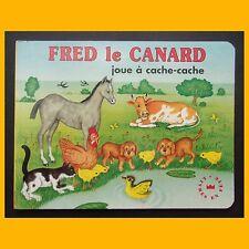FRED LE CANARD JOUE À CACHE-CACHE Heinrich Kita 1997