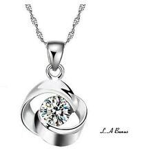 Cubic Zirconia Heart Alloy Costume Necklaces & Pendants