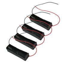 4 Custodia Case Contenitore Porta Batterie Pile 18650 con Cavo Alimentazione