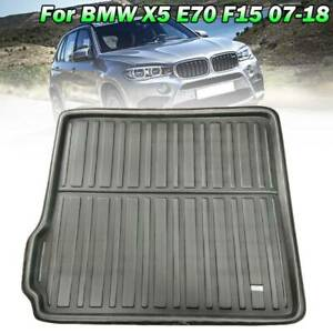 For BMW X5 E70 F15 2007-2017 Rear Cargo Boot Liner Trunk Mat Floor Tray Carpet