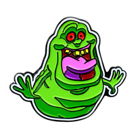 Ghostbusters Slimer Pendant Lapel Hat Pin