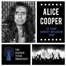 ALICE COOPER New 2019 UNRELEASED LIVE 1980 EL PASO CONCERT CD
