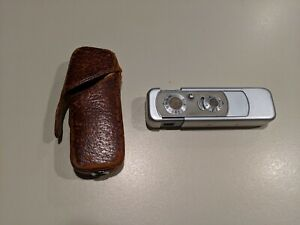 Vintage Minox III Wetzlar Subminiature Spy Camera w/case