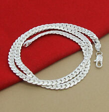 Men & Women Fashion 925 Sterling Silver Necklace Chain Jewelry FREE SHIPPING!