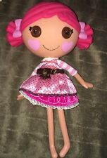 """Lalaloopsy Toffee Cocoa Cuddles Doll Full Size 12"""" Hot Pink Hair Collectible Toy"""