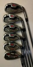 Wilson Prostaff Tour Irons 6-PW & Profile SW Right Men's Flex Steel