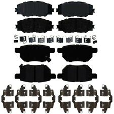 Front and Rear Ceramic Brake Pad Sets Kit ACDelco Pro For Toyota Pontiac Scion