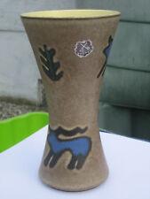 Dumler & Breiden Höhr vase en céramique décor animaux préhistoriques