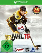 NHL 15 Microsoft Xbox One *NEU & OVP* Deutsch XBONE XBOXONE Hockey 2014 DVD-Box