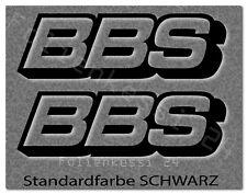 BBS 2 Aufkleber Auto Styling Tuning Felgen Logo Racing  -30 Farben- BBS004